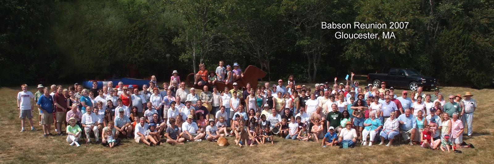 2007 Babson Reunion