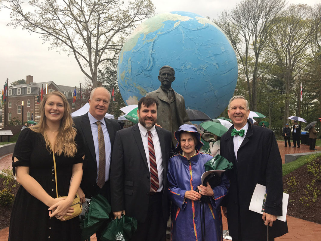 Babson Statue Unveiling