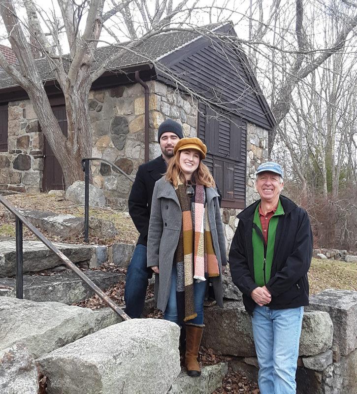 Valeri and Josh Visit Babson Museum