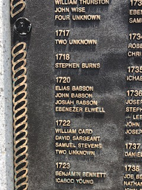 Babsons Engraved