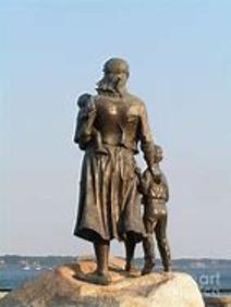 Widows Statue