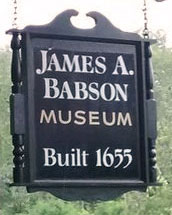 Babson Museum Sign